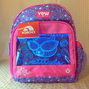 Igloo YEW Stuff Light Up Kids Sizes Backpack